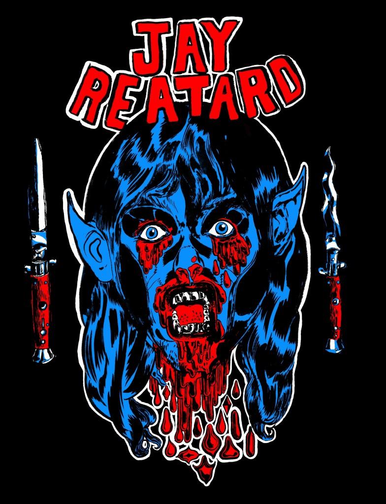2009-10-19 Reatard Shirt small black